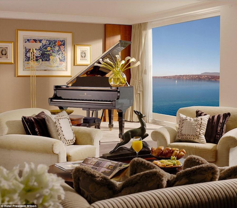Khách sạn President Wilson, Geneva, Thuỵ Sĩ