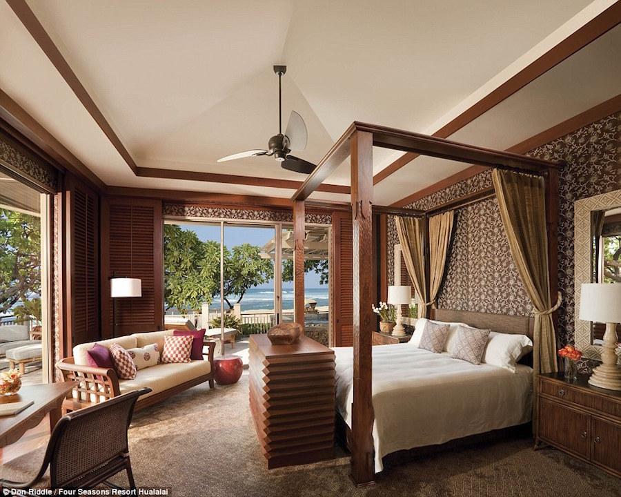 Khu nghỉ dưỡng Four Seasons Hualalai, Hawaii, Mỹ