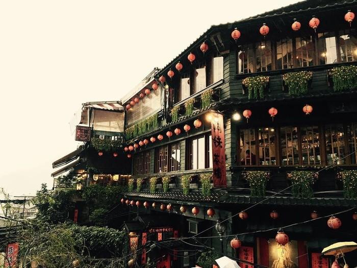 Trầm mặc làng cổ Jiu Feng
