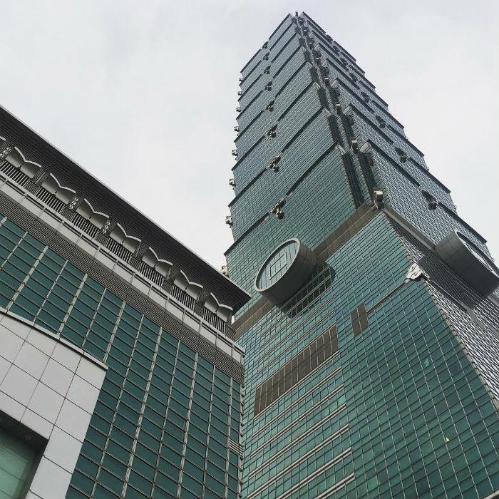 Sừng sững tòa nhà Taipei 101