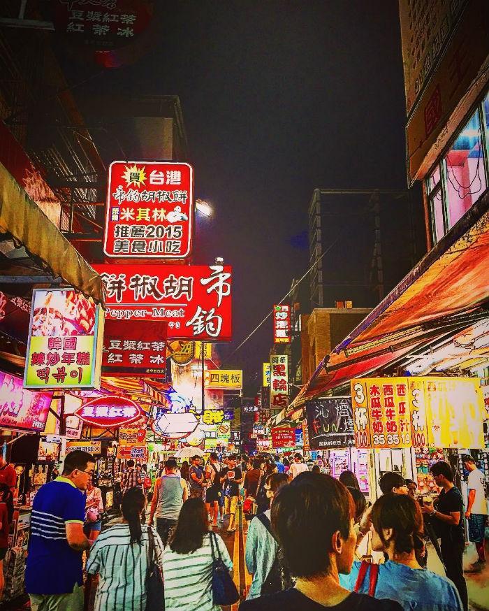 Đắm chìm trong các món ăn tại chợ đêm Fengjia, Đài Trung