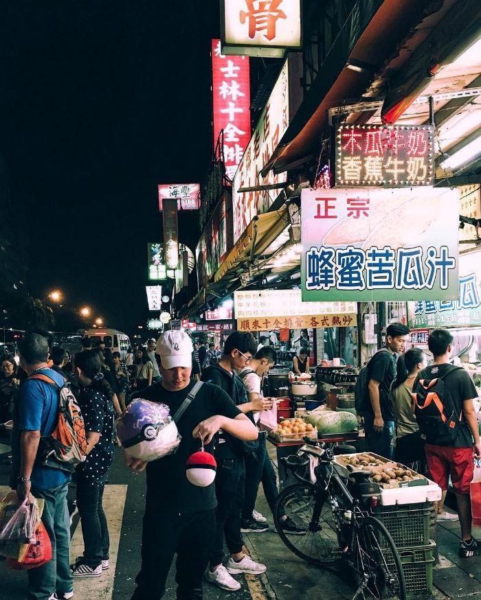 Tấp nập chợ đêm Shilin