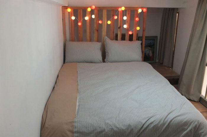 Phòng dorm nhỏ xinh xắn - Ảnh: Huyền Vịt