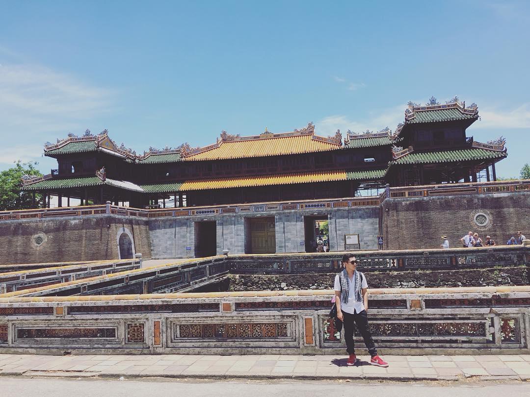 Thời gian như quay ngược ở Kinh thành Huế - Ảnh: @sonhaaaaa