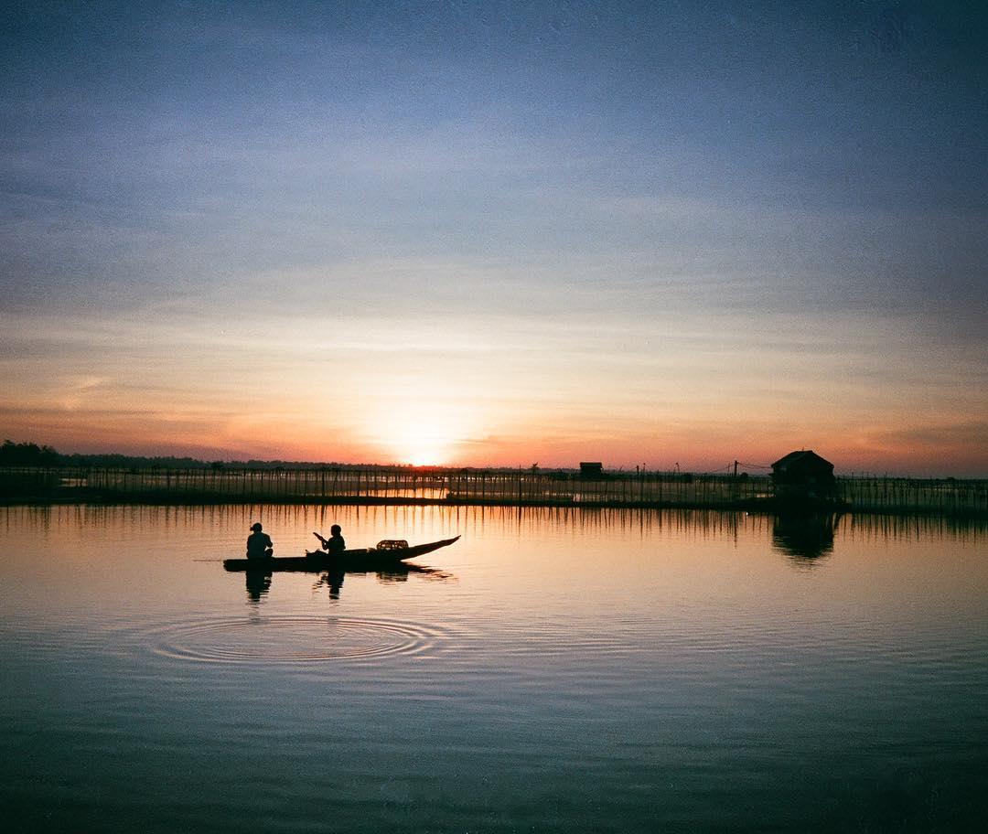Vẻ đẹp dung dị bình yên ở phá Tam Giang - Ảnh: @ankhnam