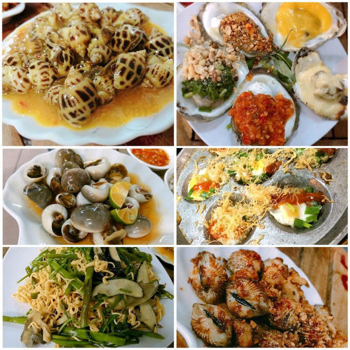 Bạn sẽ khó có thể cưỡng lại những món ốc ngon tuyệt của Sài Gòn - Ảnh: IG kelsi_bichtran