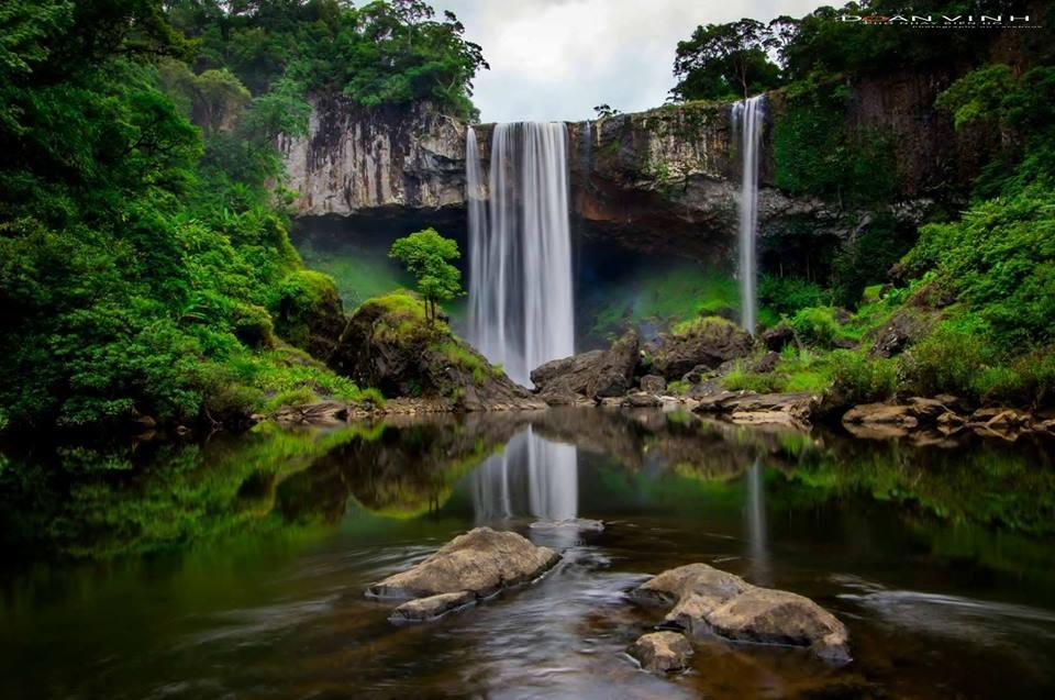 Thác K50 - nơi hội tụ vẻ đẹp tinh hoa của thiên nhiên - Ảnh: Doan Vinh