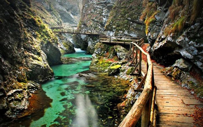 Hẻm núi Bled, Slovenia