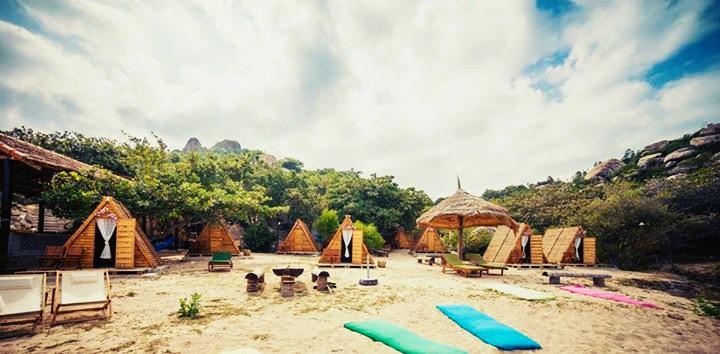 Những ngôi nhà nhỏ mang đậm phong cách du mục thảo nguyên