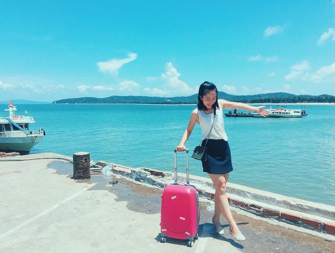 Đi du lịch với tâm trạng thoải mái
