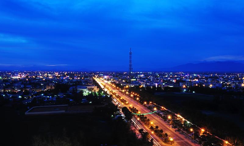 TP Phan Thiết nhìn từ trên cao