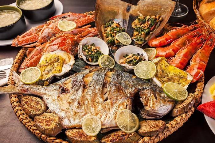Ngây ngất cùng bữa tiệc hải sản ở phố biển Nha Trang
