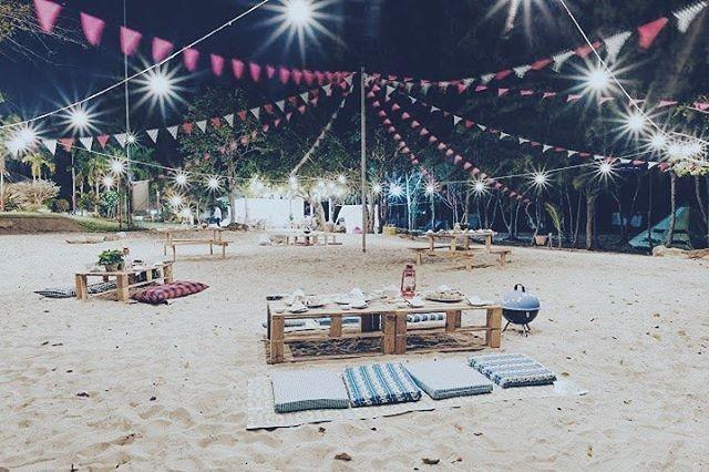 Cận cảnh khu cắm trại của Zenna