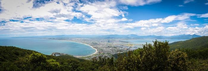 Toàn cảnh Đà Nẵng nhìn từ Sơn Trà