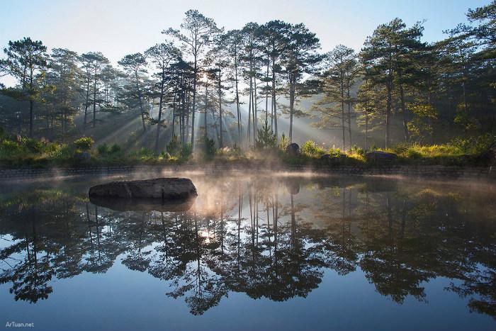 Cảnh sắc đẹp đến mê hồn, khiến bao người ngẩn ngơ chiêm ngưỡng
