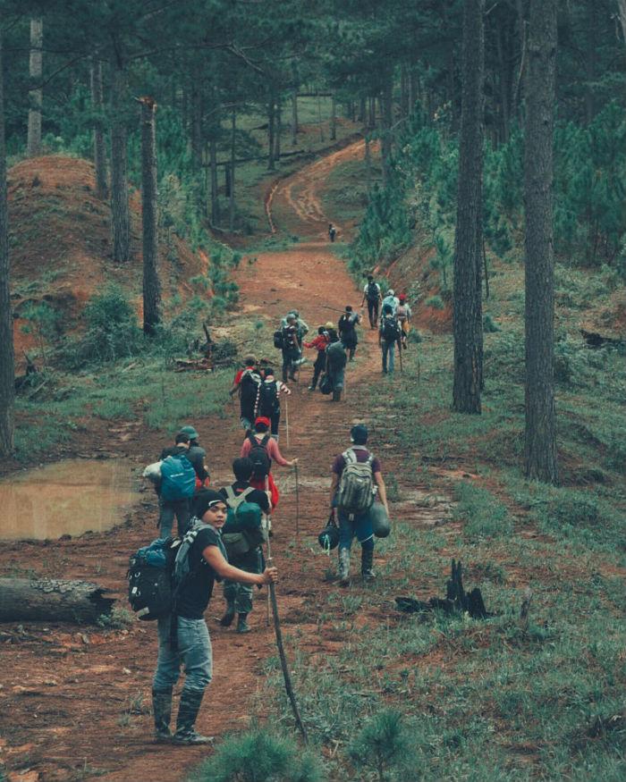Đoàn phượt khám phá vườn quốc gia Bidoup Núi Bà