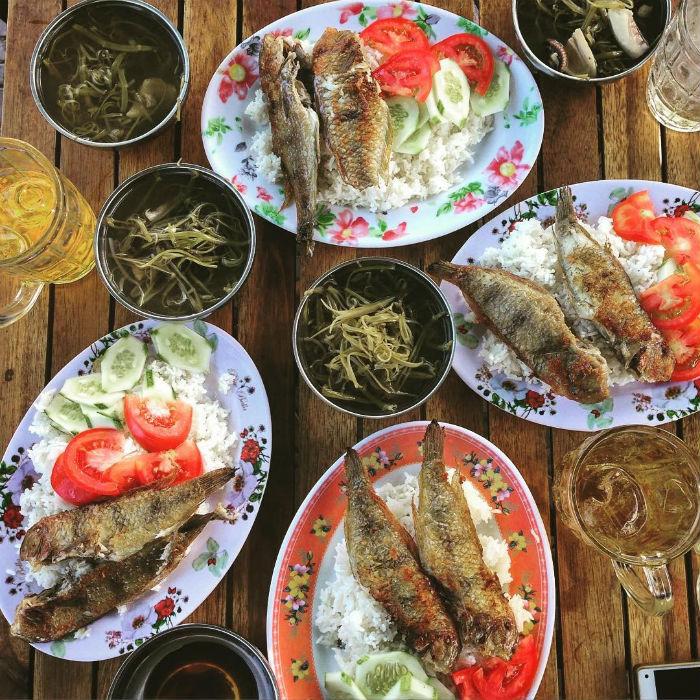 Đặc sản cá lưỡi mèo còn gọi là cá mó Côn Đảo