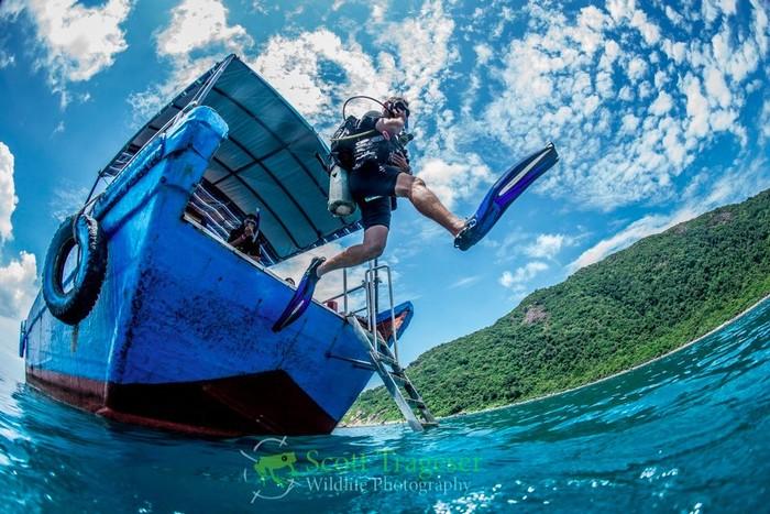 Lặn biển khám phá lòng đại dương Côn Đảo