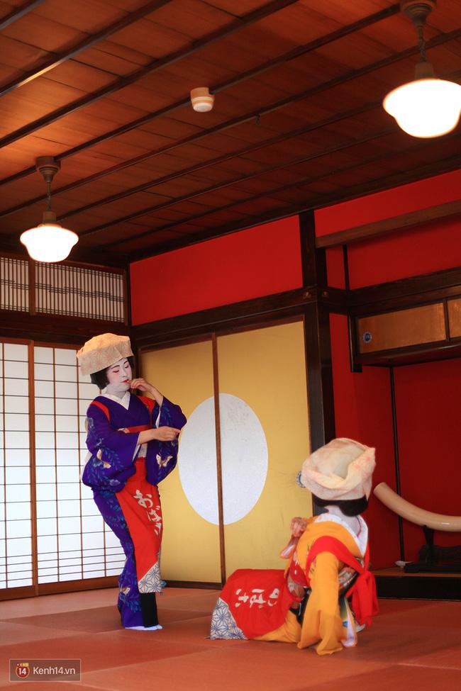 Một buổi biểu diễn Maiko