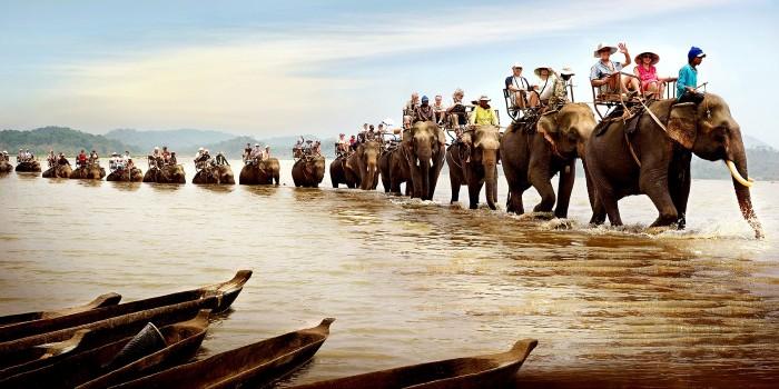 Rồi cưỡi voi khám phá khắp buôn làng