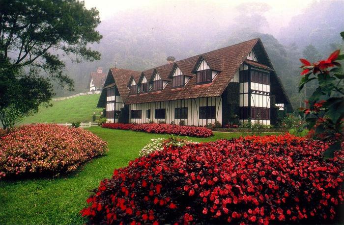 Những ngôi nhà kiểu Anh xinh đẹp