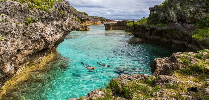 Vùng nước xanh ngọc ở Niue