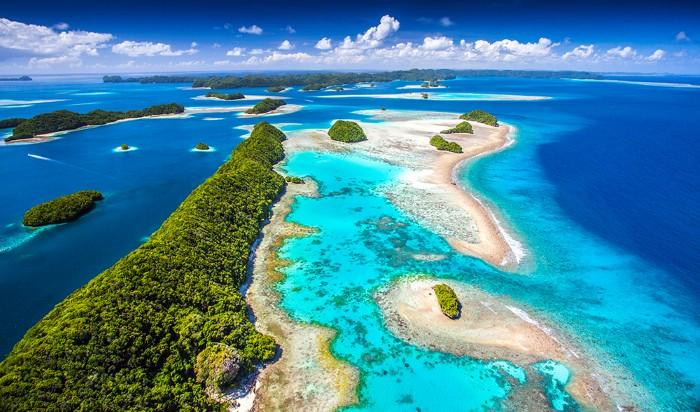 Viên ngọc xanh Palau
