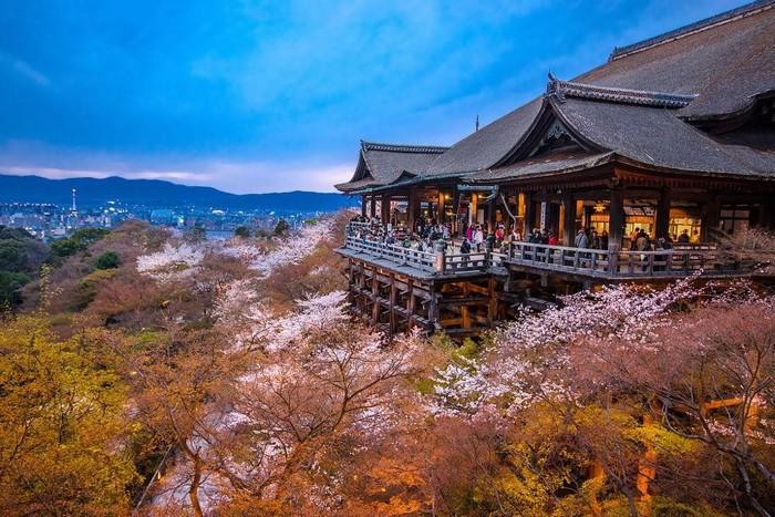 Cố đô Kyoto – nơi sản sinh ra loại hình nghệ thuật Geisha đặc biệt của Nhật Bản
