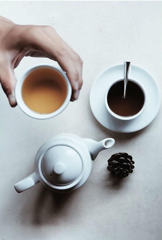Hương café thoảng trong tâm trí.