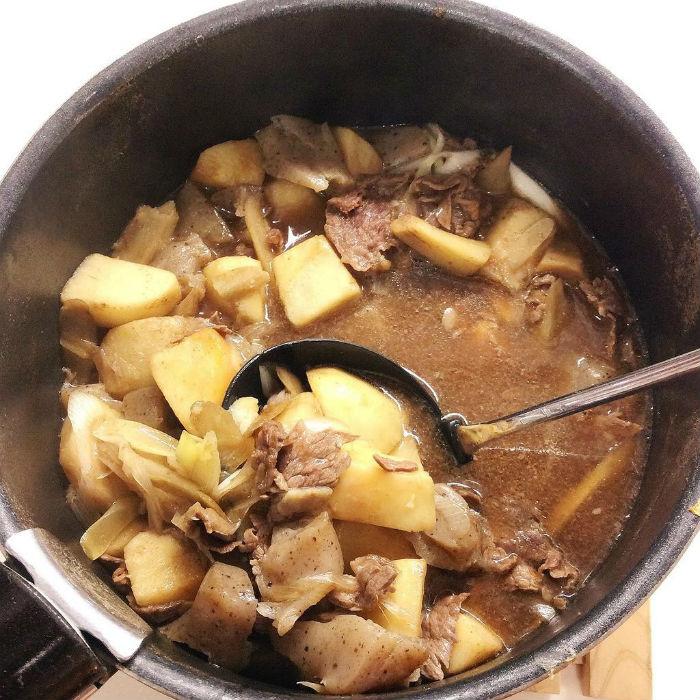 Imoni với nhiều khoai tây và thịt