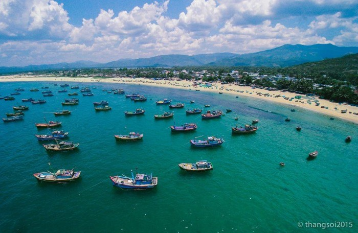 Việt Nam nhìn từ bầu trời - Ảnh: Thắng Lê Thế