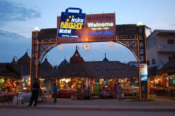 Khu Angkor night market