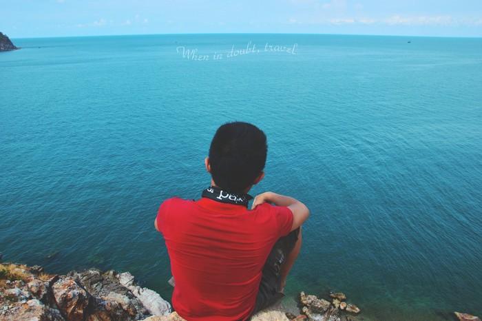 Đối mặt với đại dương, mọi lo nghĩ của bạn như được cuốn sạch
