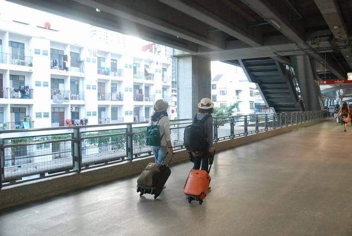 Valy kéo rất tiện dụng khi đi xa dài ngày