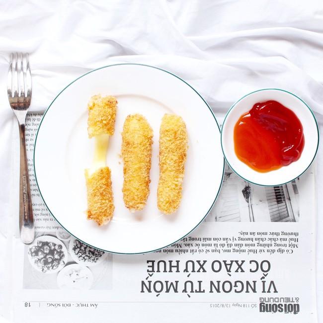Phomai que - Ngõ 135 Phương Mai/ Thịt xiên rau câu Phương Mai. Giá: 30.000.