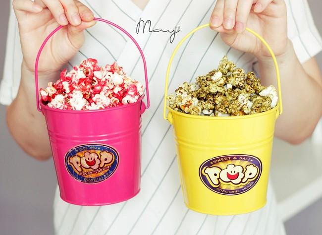 Bỏng ngô nhiều vị - Popcorn House - 59 Bà Triệu. Giá: 18.000.
