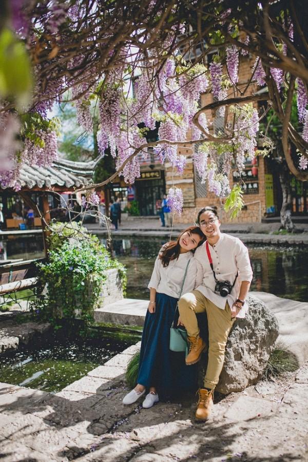 Lãng mạn bên cổ trấn Lệ Giang ngày nắng