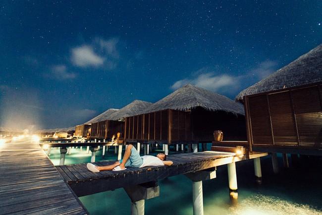Bầu trời đầy sao đêm trên đảo