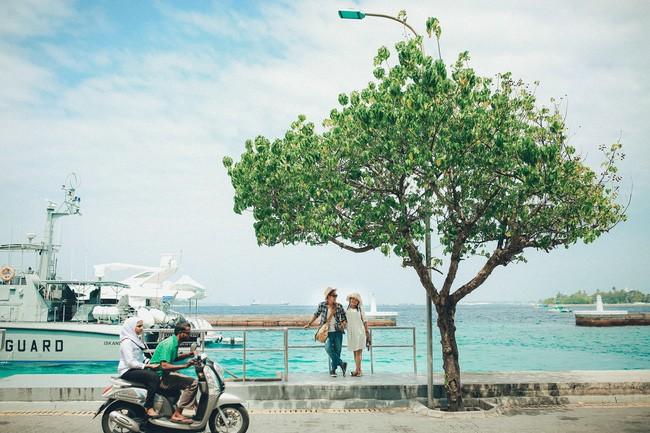 Thủ đô Malé hiền hòa