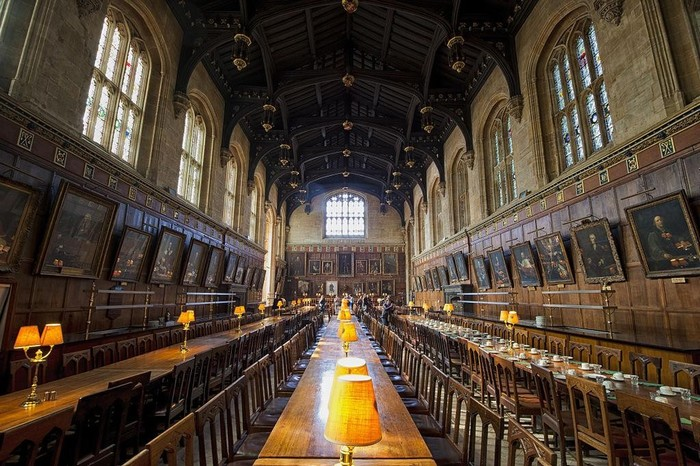 Đại sảnh đường Hogwarts đời thực
