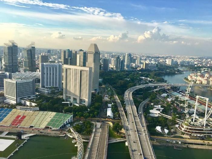 Toàn cảnh Singapore chụp bởi Iphone 7 - Ảnh: Lương Nguyên Vũ