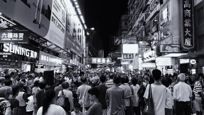 Hong Kong – đêm không ngủ by Iphone 7 plus - Ảnh: Alex Chen