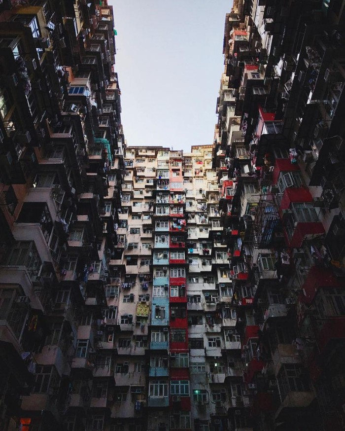 Hong Kong một góc ấn tượng qua ống kính Iphone 7 plus - Ảnh: Chun Chau