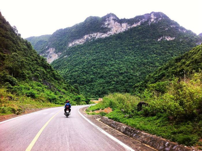 Đường về Đông Bắc - Ảnh: @tuyetpuca