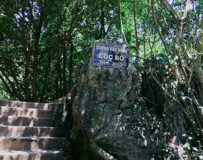 Đường vào hang Cốc Pó - Ảnh: @aka.kimanh