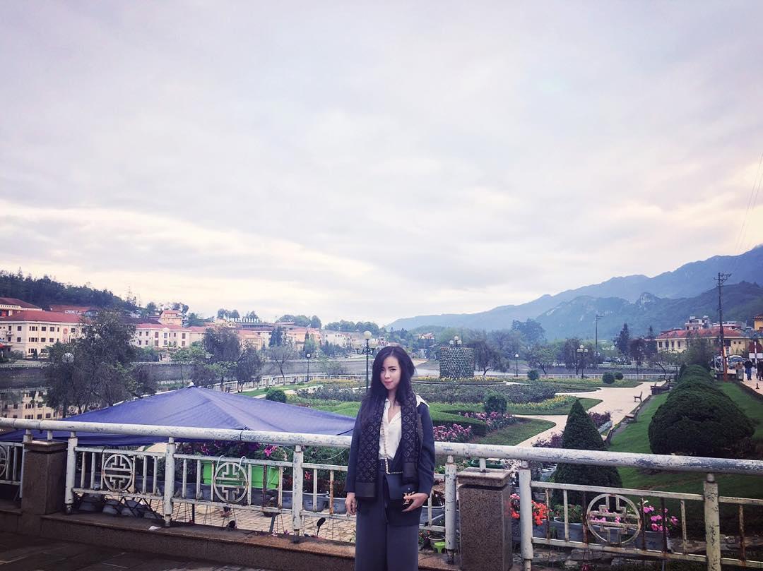 Ở khách sạn Mường Thanh Sapa - Ảnh: cher_pm