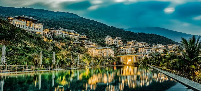 Toàn cảnh Khu nghỉ dưỡng InterContinental Danang Sun Peninsula Resort