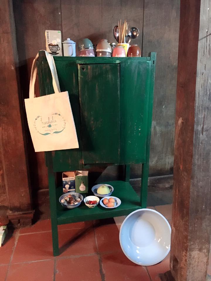 Túi vải dùng để đi chợ, thay thế túi nilon.