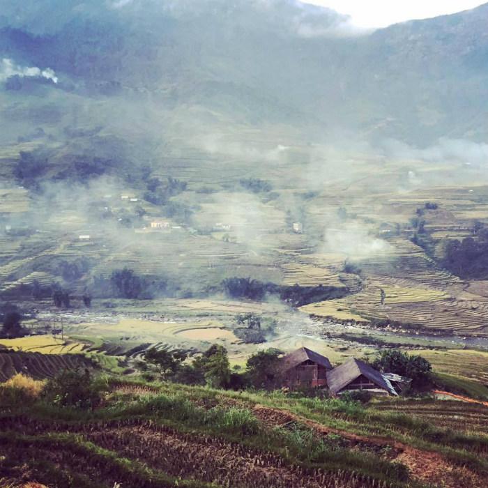 Phong cảnh tuyệt đẹp ở Tả Van.