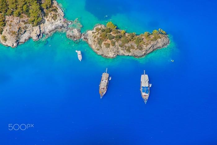 Sắc màu của biển Ölüdeniz đẹp đến mê hồn